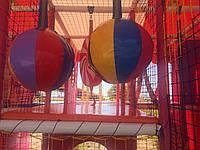 Оборудование для детских игровых комнат,лабиринты,батуты