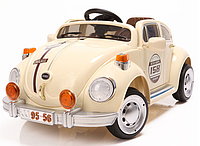 Детский электромобиль Festa Ретро Жук (бежевый, на радиоуправлении)