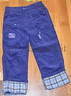 Вельветовые штаны для мальчика р.86
