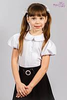 Белая блузка с воротничком Malena