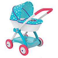 Детская коляска для куклы Smoby Frozen 254145