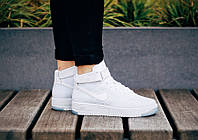 "Кроссовки Nike Air Force 1 Flyknit ""White Pure Platinum""."