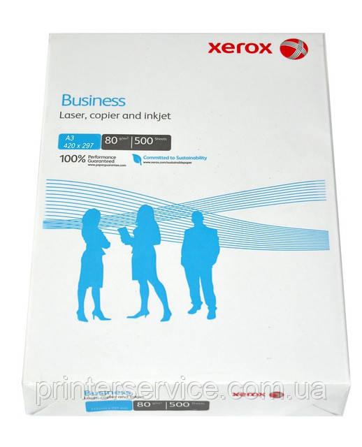 Бумага A3 Xerox Business, ECF 80г/м2, 500 листов (код 003R91821)