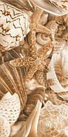 Декор Golden Tile Sea Breeze Shells бежевый 300х600