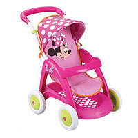 Коляска для куклы Smoby Minnie Mouse 510133