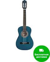 Классическая гитара Eurofon GSC11 BL (синего цвета)