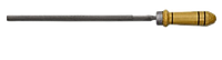 Напильник круглый 200мм, № 2 с ручкой TECHNICS