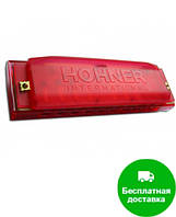 Губная гармошка Hohner M5154 C Happy Red