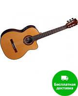Гитара классическая со звукоснимателем LAG Occitania OC300CE