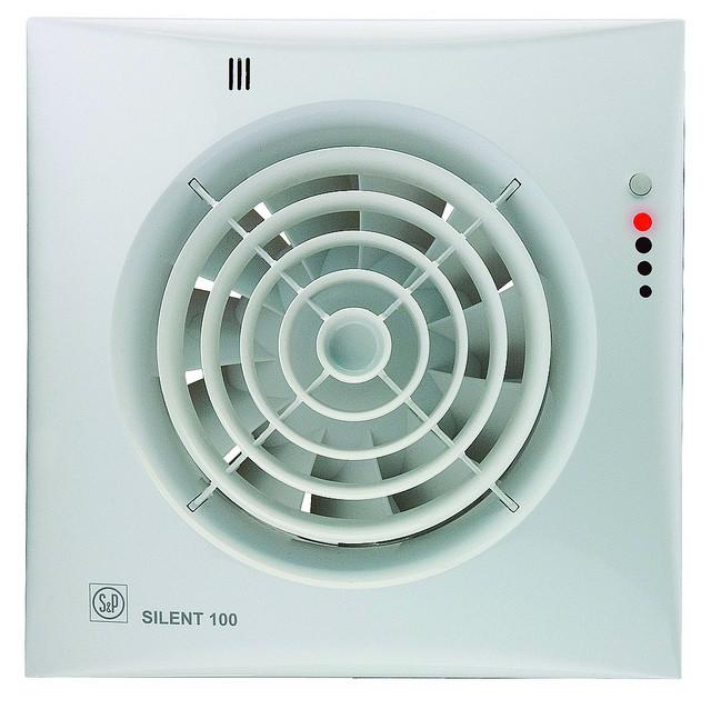 Вытяжной вентилятор Soler&Palau SILENT-100 CHZ VIZUAL
