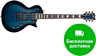 Электрогитара Ltd EC-401FM (BLKAQSB)