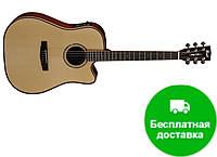 Электро-акустическая гитара Cort AS-M4 (NAT)