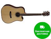 Электро-акустическая гитара Cort AS-M5 (NAT)