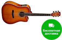 Электро-акустическая гитара Cort MR780FX (LVB)