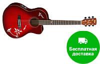 Электро-акустическая гитара Cort JADE6 TWB