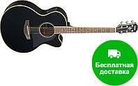 Электро-акустическая гитара Yamaha CPX700 II (BLK)