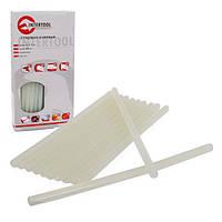 Комплект прозрачных клеевых стержней 11.2 мм*300 мм уп. 1 кг (цветная упаковка) INTERTOOL RT-1025