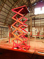 Подъемник гидравлический Docker 1500х1500мм, ход 4,1м