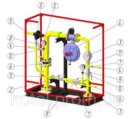 Пункт шкафной газорегуляторный ШРП-А/149.01 - Украинская Энергопромышленная Группа в Киеве