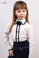 Блузка с шифоновой розой Malena, фото 1