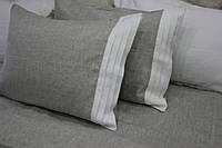Льняная наволочка гафре 50х70,  оршанский лен , фото 1