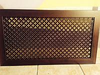 Коламбия (орех) 1200х600 мм - Экран декоративный на батарею