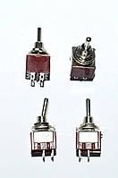 11-0035. Тумблер MTS-201 (ON-OFF), 4pin, 3A 250VAC