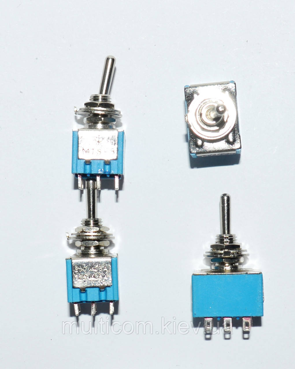 11-00-021. Тумблер MTS-303 (ON-OFF-ON), 9pin, 3A 250VAC