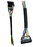 11-0305. Переключатель cтеклоподъёмника с подсв. и проводами ASW-21D, 12V, 20А