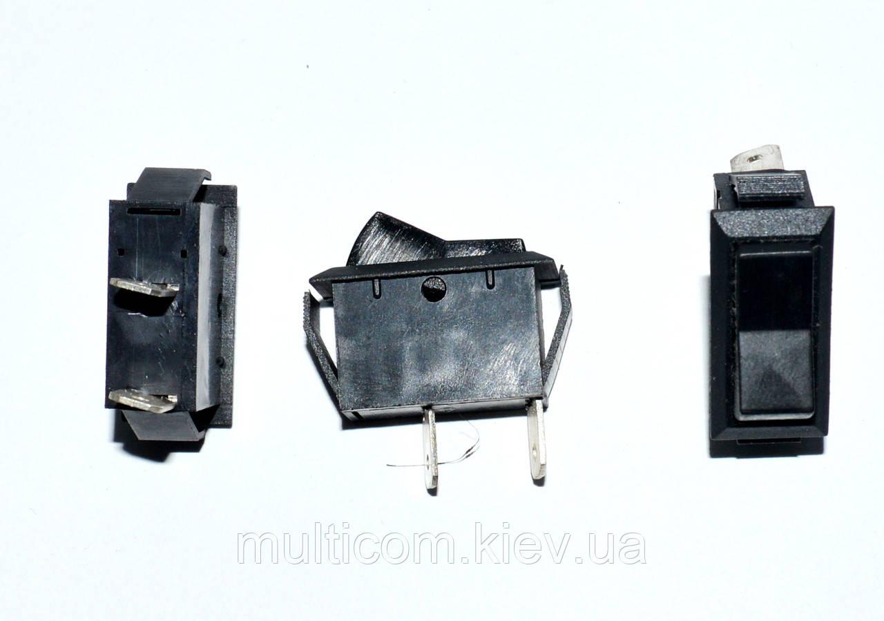 11-03-018. Переключатель ASW-09-101 ON-OFF, 2pin, 12V, 20А, чёрный