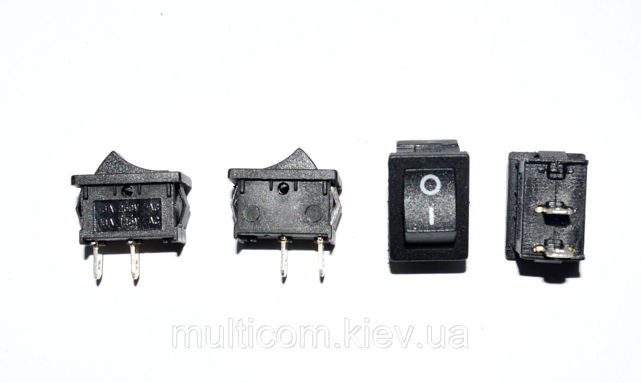 11-02-010. Переключатель MRS-101A (ON-OFF), 2pin, 10А-125V/6A-250V, черный
