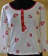 Женская блузка из вискозы больших размеров Ангелина в размерах 42, 46, 48, 50, 52, 54