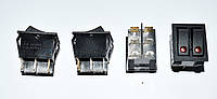 11-0573. Переключатель двойной с подсв. IRS-2101E-1C ON-OFF, 6pin, 15A, 220V