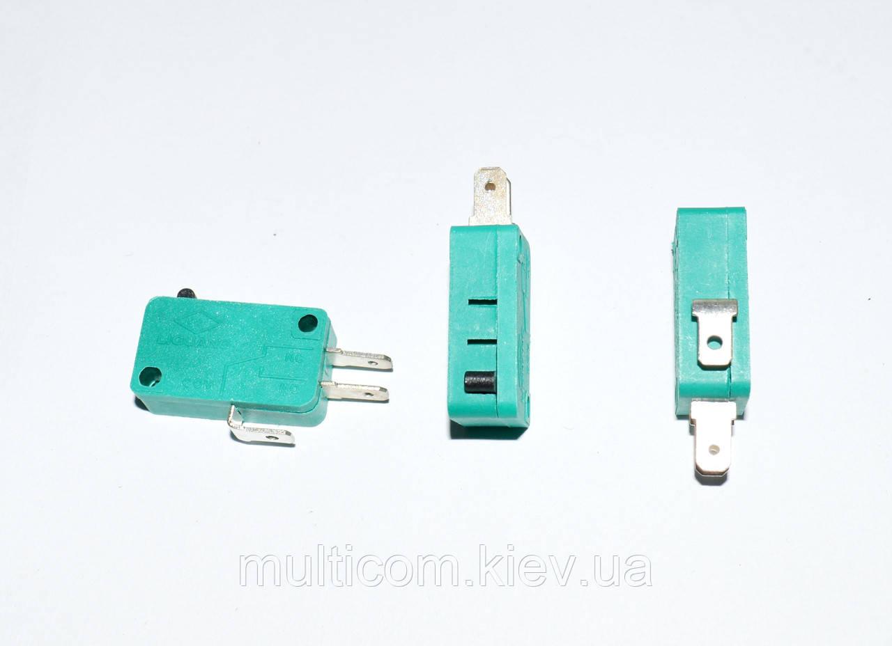 11-07-002. Микропереключатель MSW-01 ON-(ON), 3pin, 10A, 125/250VAC