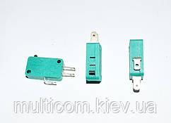 11-03-001. Микрик большой KW3-02 (ON-ON), 3pin, 10A, 125V/250V