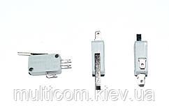 11-03-101. Микропереключатель с лапкой MSW-02 (ON-ON), 3pin, 5A, 125V/250V