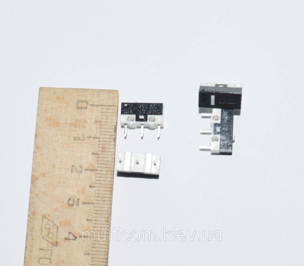 11-07-012. Микропереключатель MSW-21, 3pin, 1A, 125/250VAC