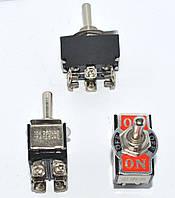 11-01-10. Тумблер большой 6pin (ON-OFF-ON), 10A 250V, KN3(B)-203A
