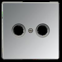 Розетка телевизионная TV-R Jung LS 990 Aluminium накладка