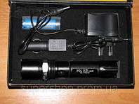 Тактический фонарик Police BL-8626 3000w с линзой Bailong