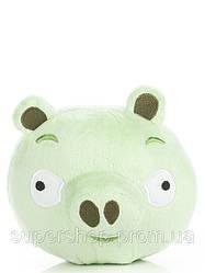 Игрушка Angry Birds зеленая свинка (энгри бьордс пиг) - 16 см без звука