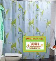"""Шторка для ванной комнаты """"Calla"""", Miranda. Производство Турция, фото 1"""
