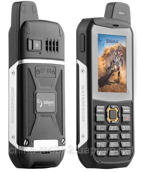 Телефон Sigma X-treme 3 sim IP68 Black