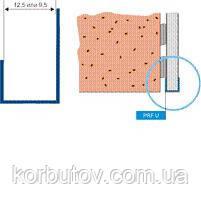 Декоративный профиль торцевой  для  ГКЛ пластиковый, фото 2