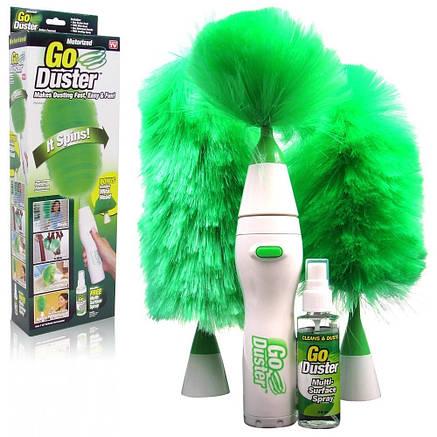 Вращающаяся метелка для удаления пыли Go Duster, фото 2
