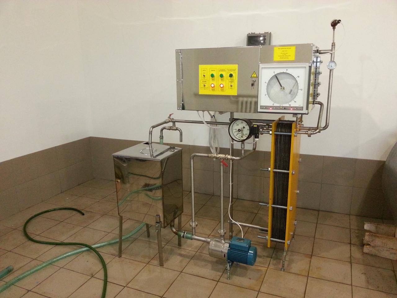 Пастеризатор молока 1 т/ч УЗМ-1,0Р - ТОВ «НВП Дайрі» в Харькове