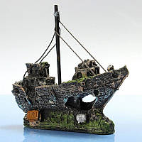 Корабль декор аквариума, фото 1