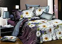 Двуспальный набор постельного белья 180*220 из Ранфорса №201 Черешенка™