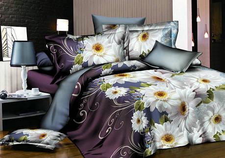 Семейный набор хлопкового постельного белья из Ранфорса №201 Черешенка™, фото 2