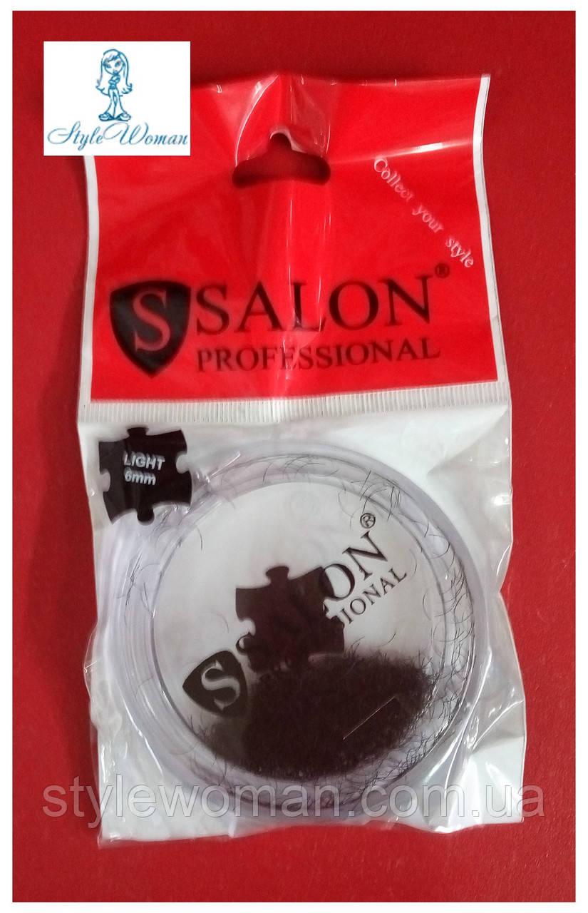 Ресницы Салон поштучные Salon Professional Light, длина 6мл